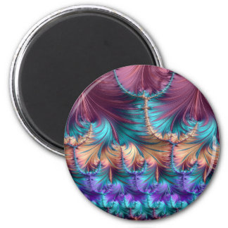 Cosmic Fountain of Childhood Fractal Abstract Magnet