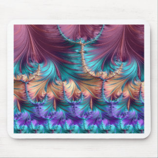 Cosmic Fountain of Childhood Fractal Abstract Mouse Pad