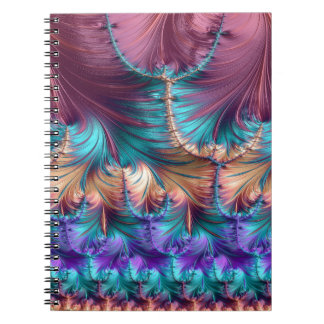 Cosmic Fountain of Childhood Fractal Abstract Notebooks