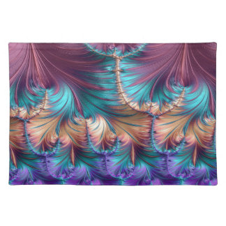 Cosmic Fountain of Childhood Fractal Abstract Placemat