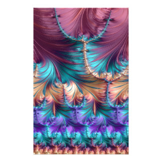Cosmic Fountain of Childhood Fractal Abstract Stationery