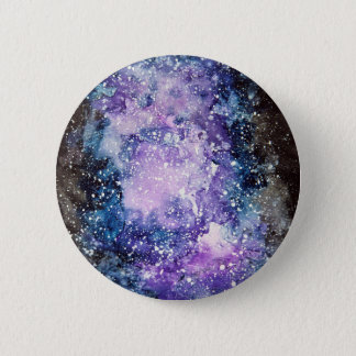 Cosmic galaxy 2 inch round button