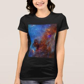 Cosmic Galaxy Nebula Women's Shirt