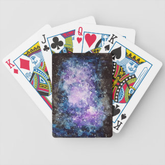Cosmic galaxy poker deck