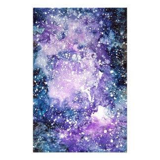 Cosmic galaxy stationery