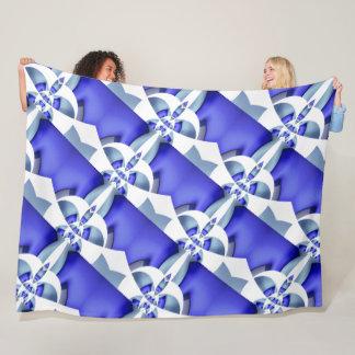 Cosmic Geometry Fleece Blanket