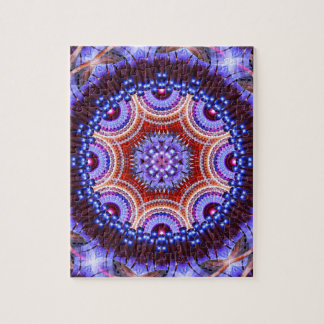 Cosmic Geometry Mandala Puzzle