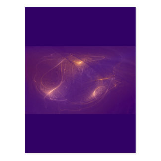 cosmic Glühwürmchen cosmic fireflies Postcard