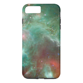 Cosmic Green Space Monkey Head Nebula SpaceHD iPhone 8 Plus/7 Plus Case
