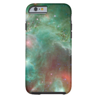 Cosmic Green Space Monkey Head Nebula SpaceHD Tough iPhone 6 Case