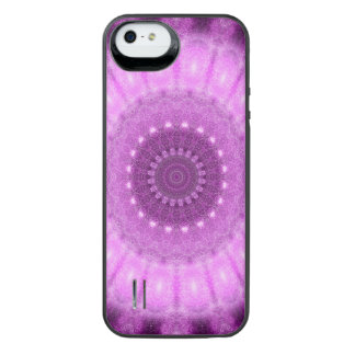 Cosmic Heart Mandala iPhone SE/5/5s Battery Case