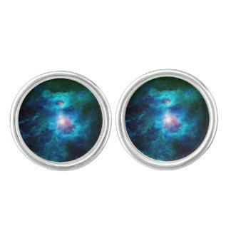 Cosmic Hearth Azul Cufflinks