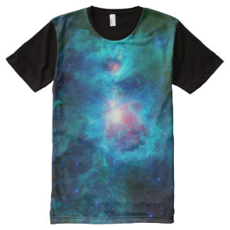 Cosmic Hearth Azure All-Over-Print T-Shirt