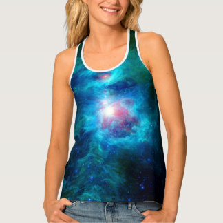 Cosmic Hearth Azure Tank Top