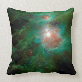 Cosmic Hearth Throw Pillow