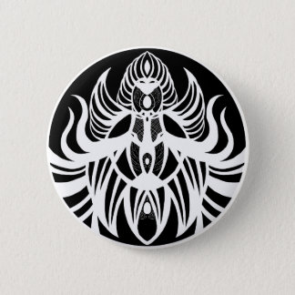 Cosmic Horror (Black and White) 2 Inch Round Button