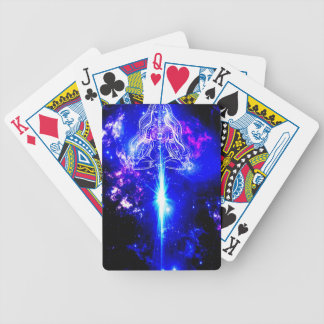 Cosmic Iridescence Bicycle Playing Cards