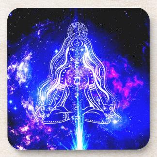 Cosmic Iridescence Coaster