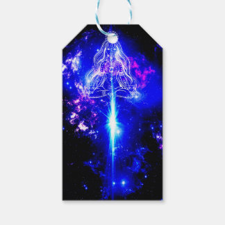 Cosmic Iridescence Gift Tags