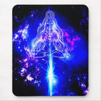 Cosmic Iridescence Mouse Pad