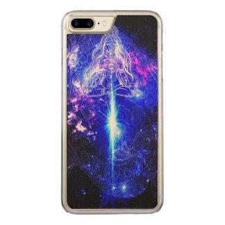 Cosmic Iridescent Koi Carved iPhone 8 Plus/7 Plus Case