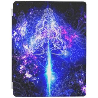 Cosmic Iridescent Koi iPad Cover