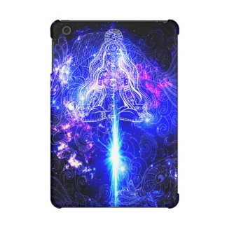 Cosmic Iridescent Koi iPad Mini Cover