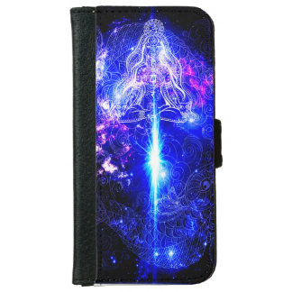 Cosmic Iridescent Koi iPhone 6 Wallet Case