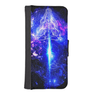 Cosmic Iridescent Koi iPhone SE/5/5s Wallet Case