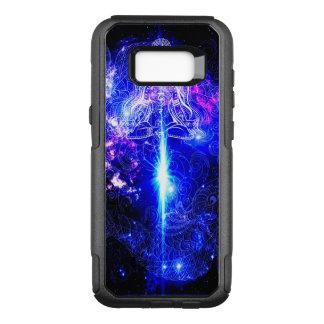 Cosmic Iridescent Koi OtterBox Commuter Samsung Galaxy S8+ Case