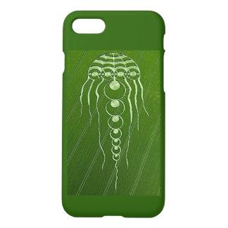 Cosmic Jellyfish crop circle iPhone 7 case