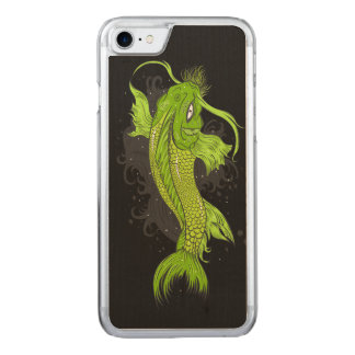 Cosmic Koi Carved iPhone 7 Case