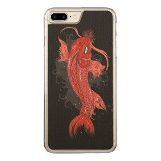 Cosmic Koi Carved iPhone 7 Plus Case