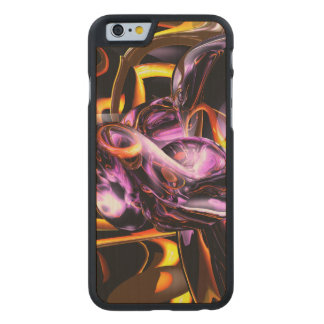 Cosmic Lightning Abstract Carved® Maple iPhone 6 Slim Case