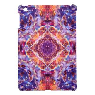 Cosmic Lightning Cross Mandala Cover For The iPad Mini