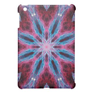 Cosmic Lightning Mandala iPad Mini Cover