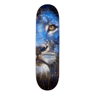 Cosmic Lion God Custom Pro Park Board Skate Deck