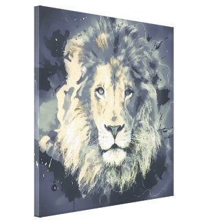 COSMIC LION KING CANVAS PRINT