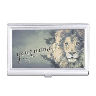 COSMIC LION KING | Custom Business Card Holder
