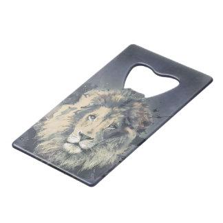COSMIC LION KING  Custom Credit Card Bottle Opener