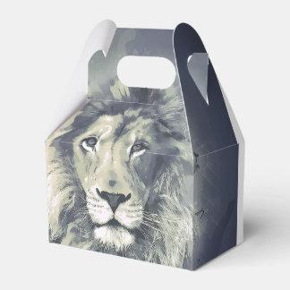 COSMIC LION KING | Custom Gable Favor Gift Box