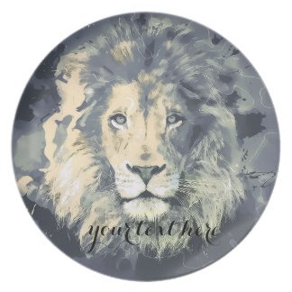 COSMIC LION KING | Custom Melamine Plate