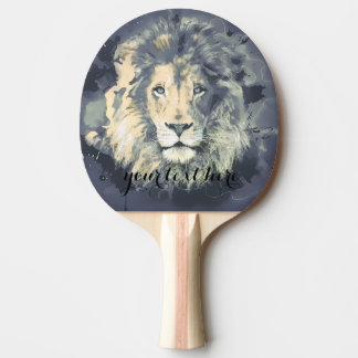 COSMIC LION KING | Custom Ping Pong Paddle