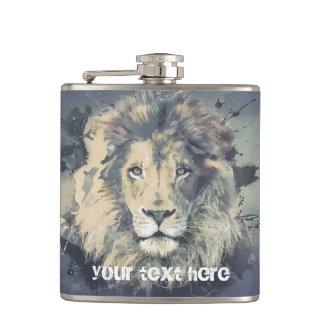 COSMIC LION KING | Custom Vinyl Wrapped Flask