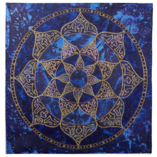Cosmic Lotus Napkins