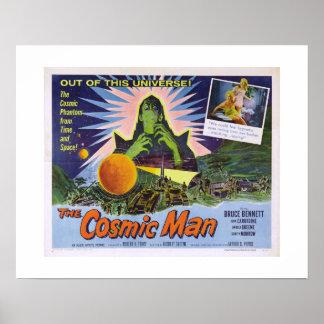 Cosmic Man Poster