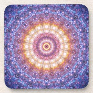 Cosmic Mandala Coaster