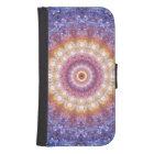 Cosmic Mandala Samsung S4 Wallet Case