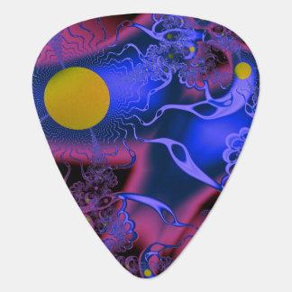 Cosmic MashUp Guitar Pick