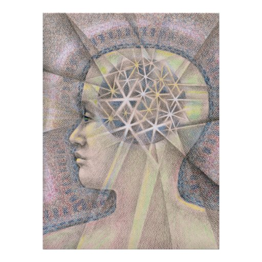 Cosmic Mind Poster